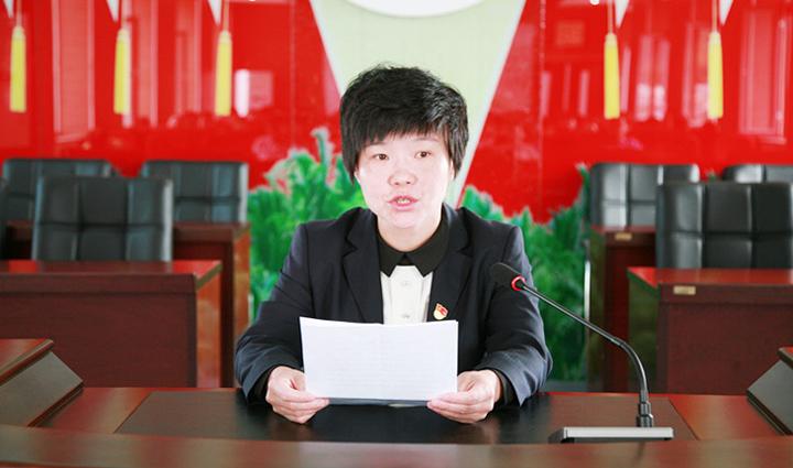 党委委员、党委工作部部长金艳芬为此次交流活动做动员讲话1.jpg