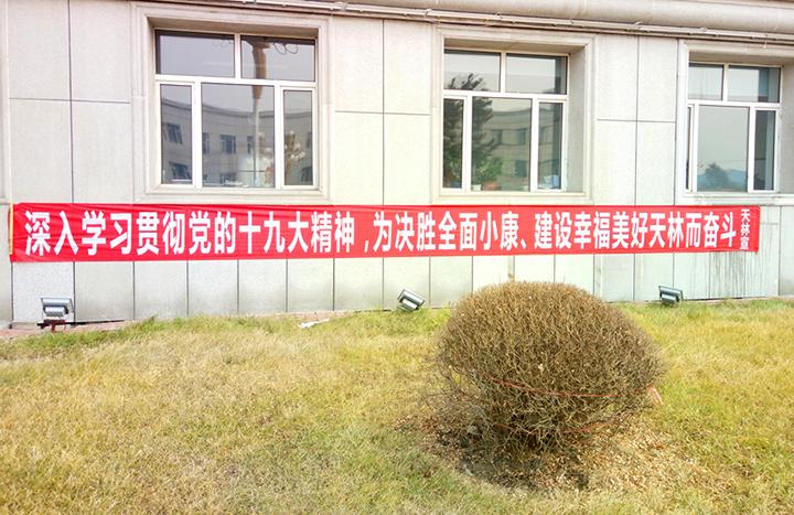 林业局机关楼前悬挂标语 (2).jpg